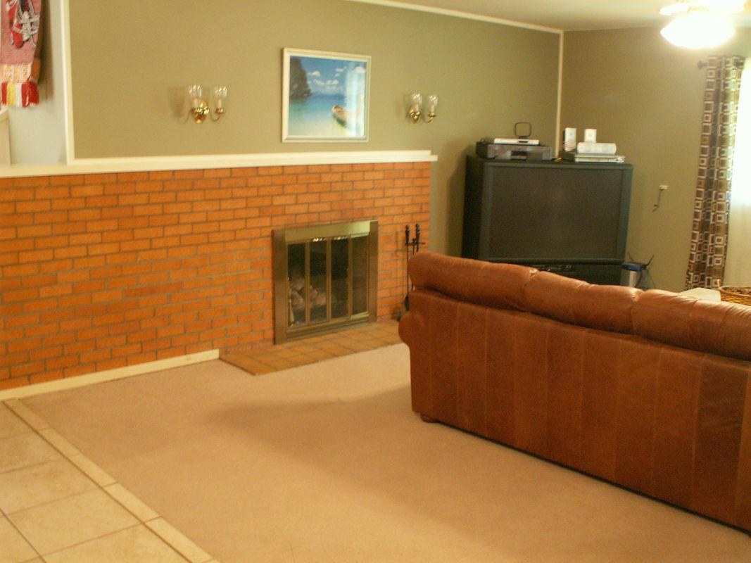 House Flip Living Room Renovation Before