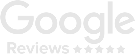 Google reviews logo in white