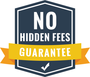 No Hidden Fees for house removals