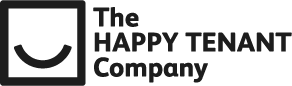 The Happy Tenant Company logo in black and white