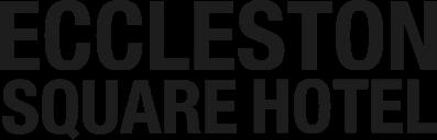 Eccleston square hotel logo in black