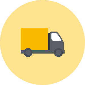 House removals van icon