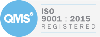 ISO:9001 badge for quality management