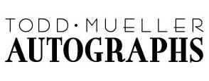 Todd Mueller Autographs