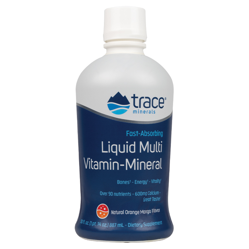 Liquid Multi Vitamin-Mineral - Orange/Mango