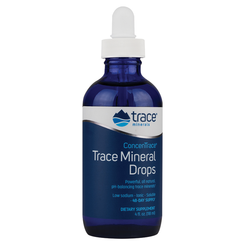 ConcenTrace® Trace Mineral Drops - Glass