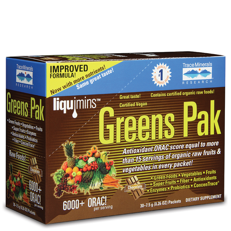 Greens Pak - Chocolate