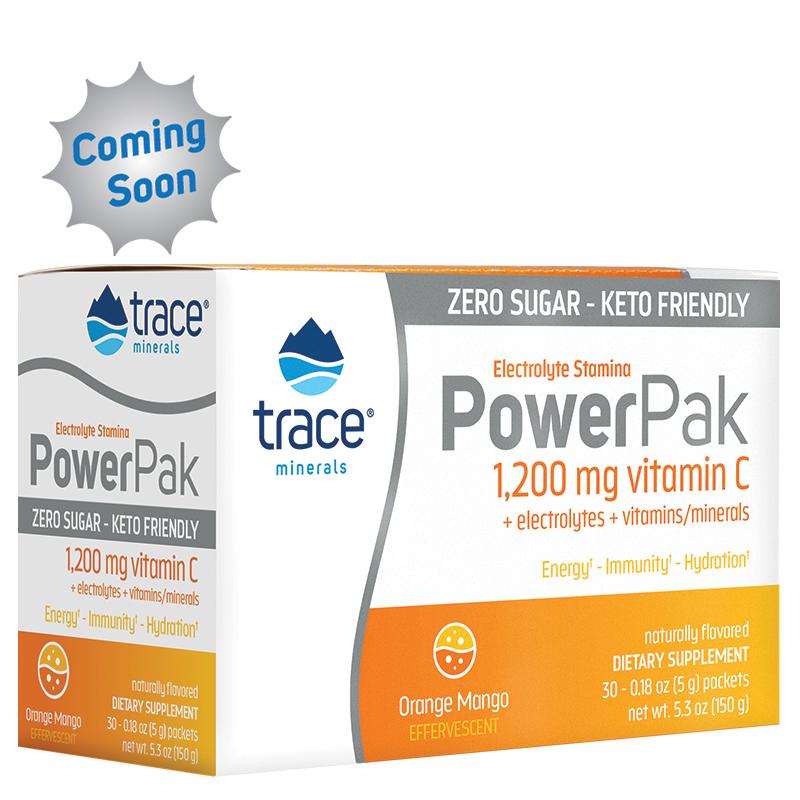 Sugar Free Electrolyte Stamina Power Pak - Orange Mango