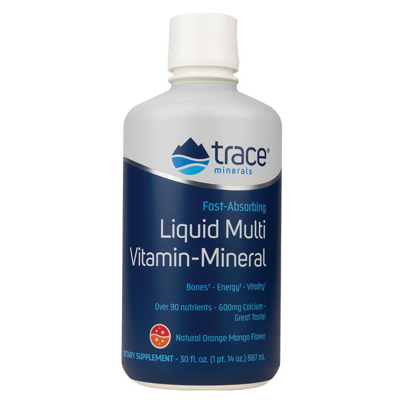 Liquid Multi Vitamin-Mineral - Orange/Mango