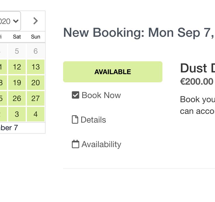 Select tour dates