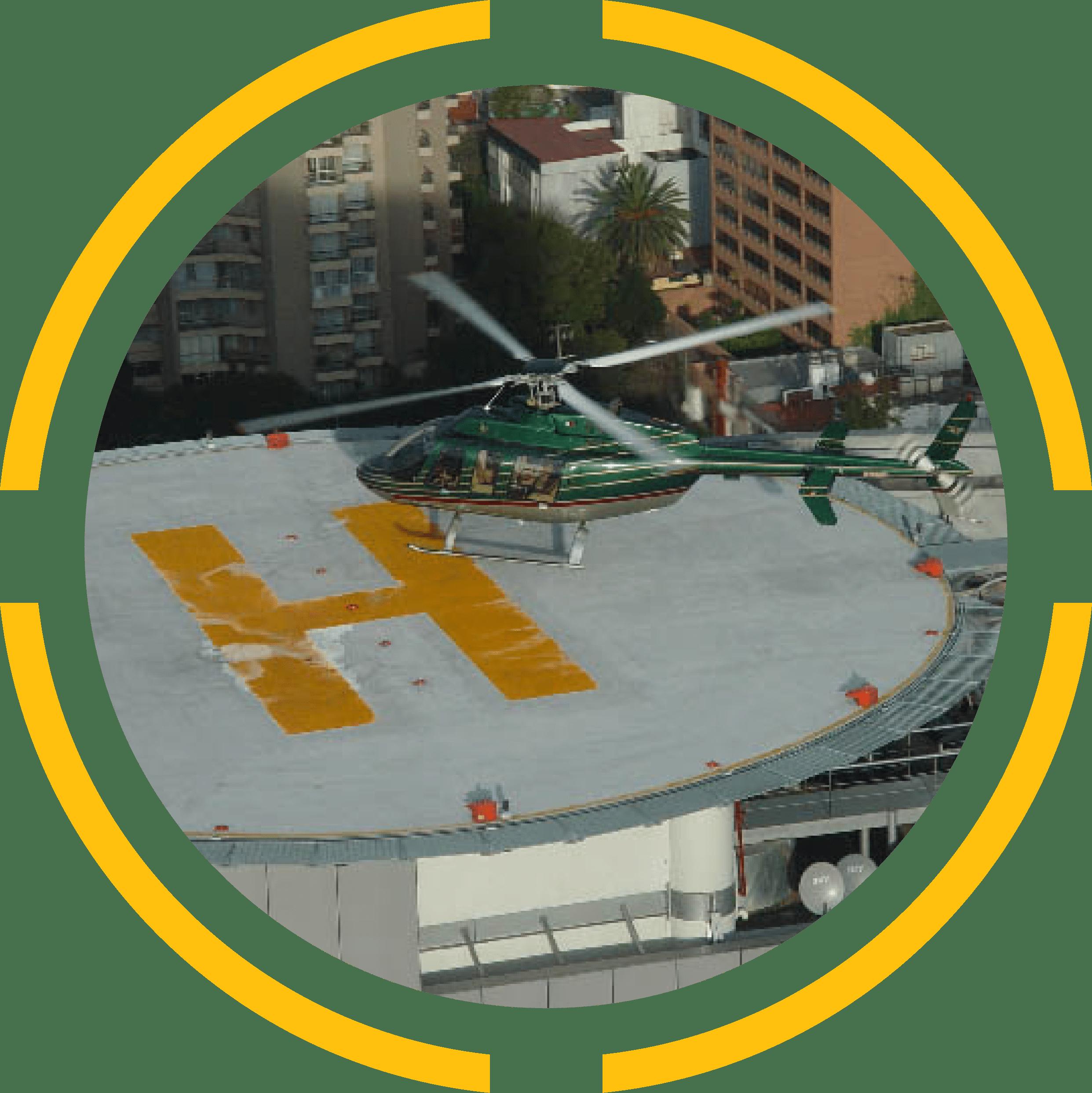 Heliport pad image