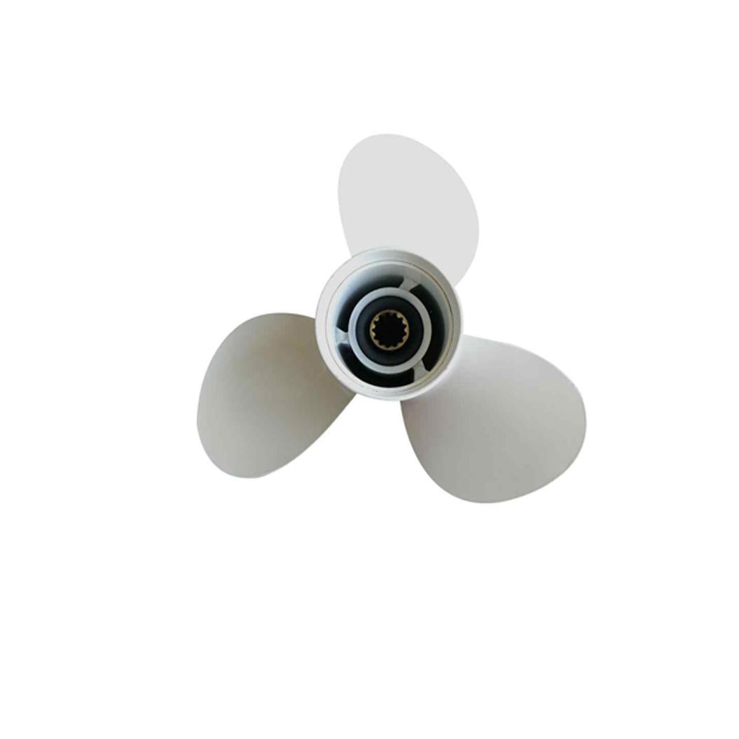 Propellers voor buitenboordmotoren.