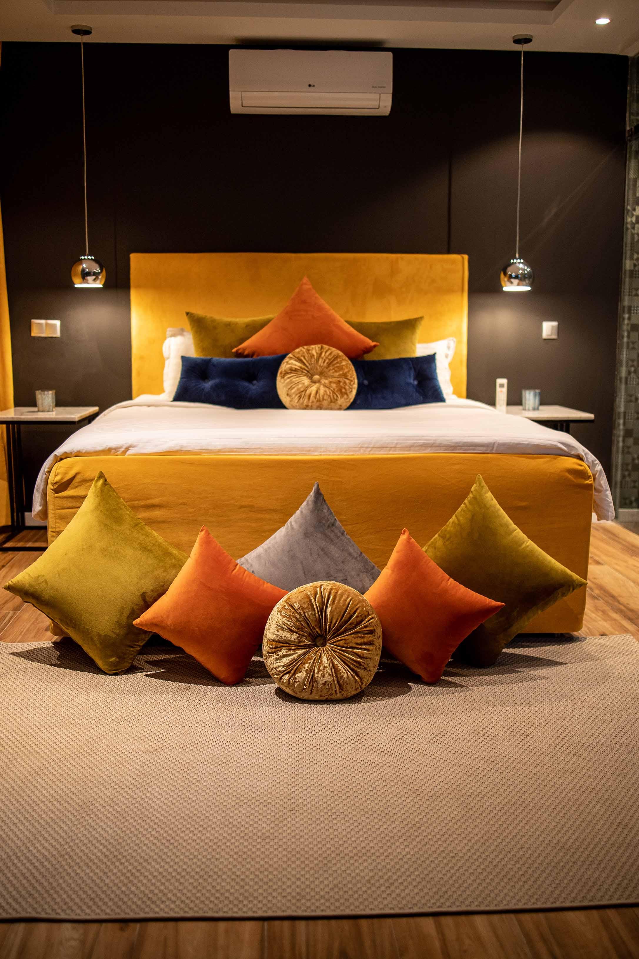 Luxury family bedroom