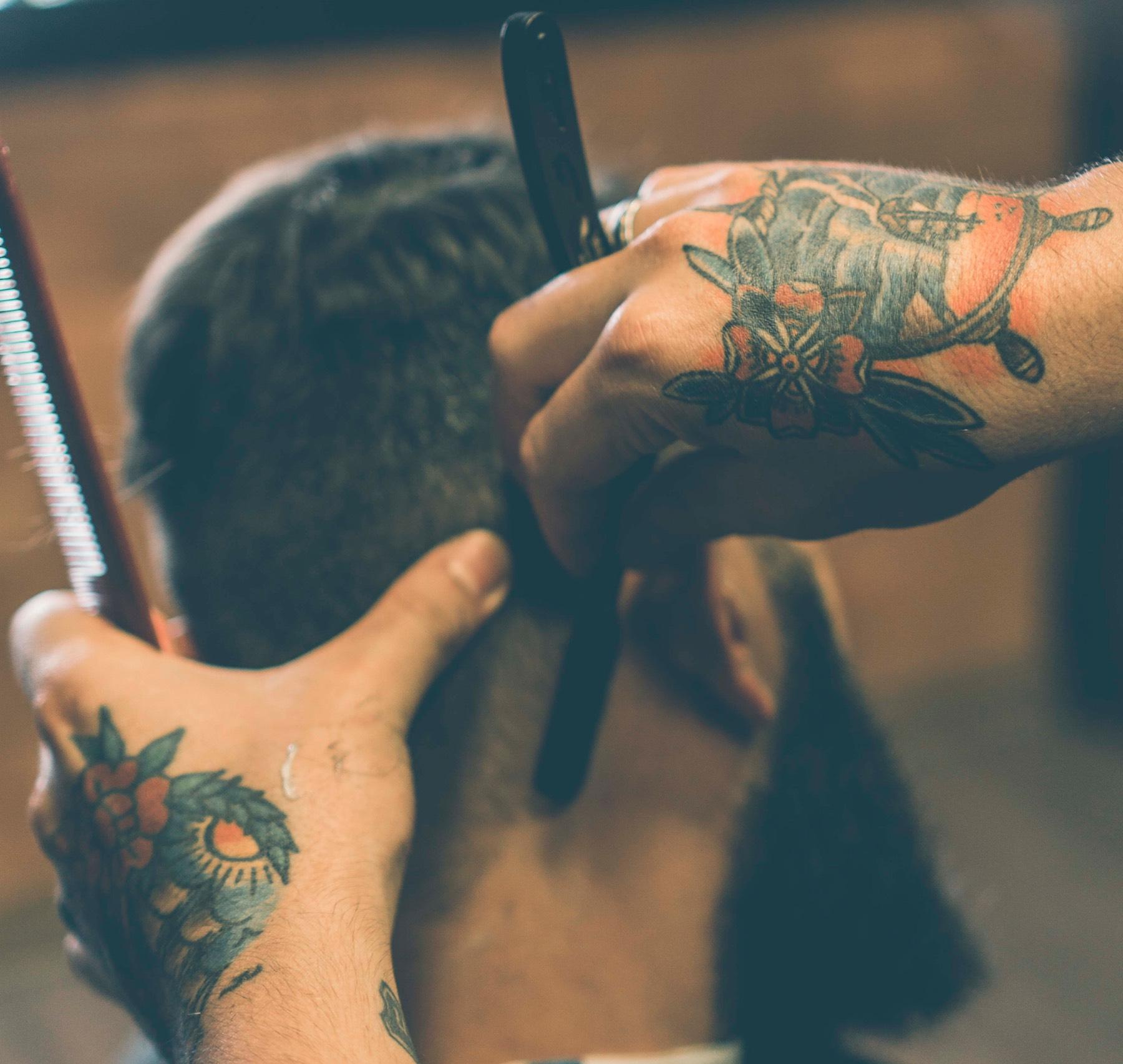 barber fade