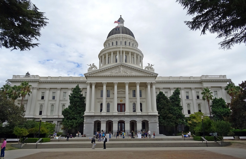 california senate building