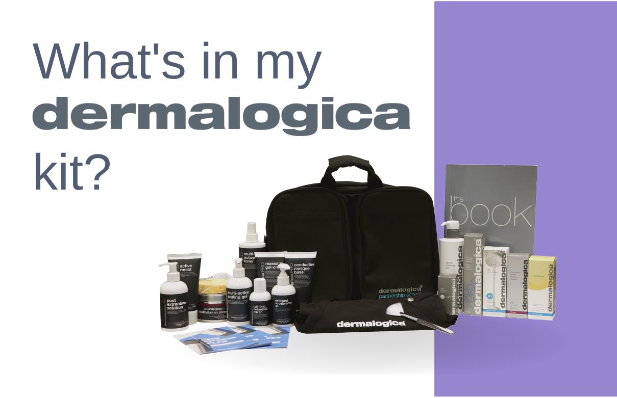 Dermalogica esthetician kit