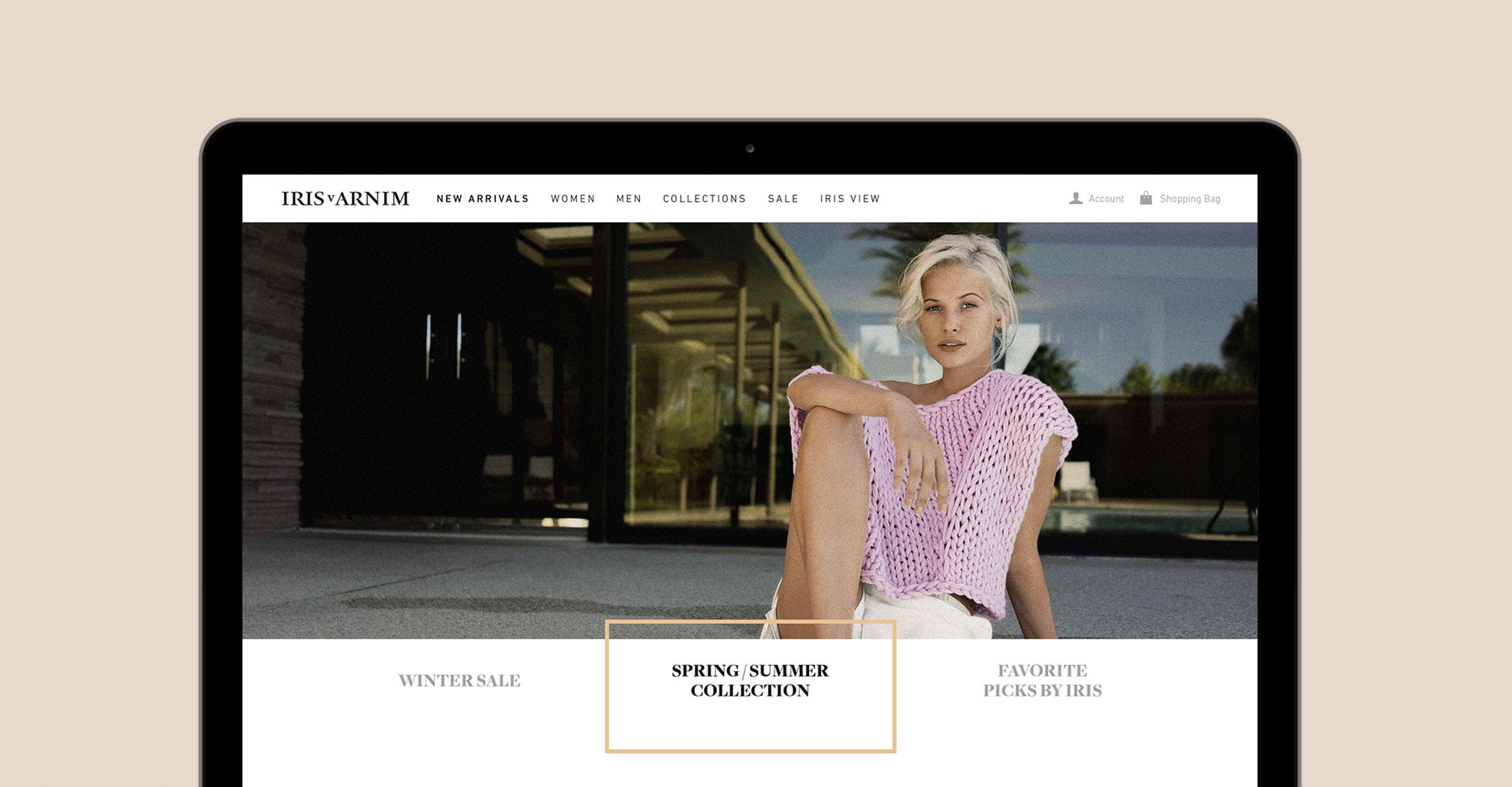 Iris von Arnim Referenz Slide 1 Webdesigner aus Schleswig-Holstein