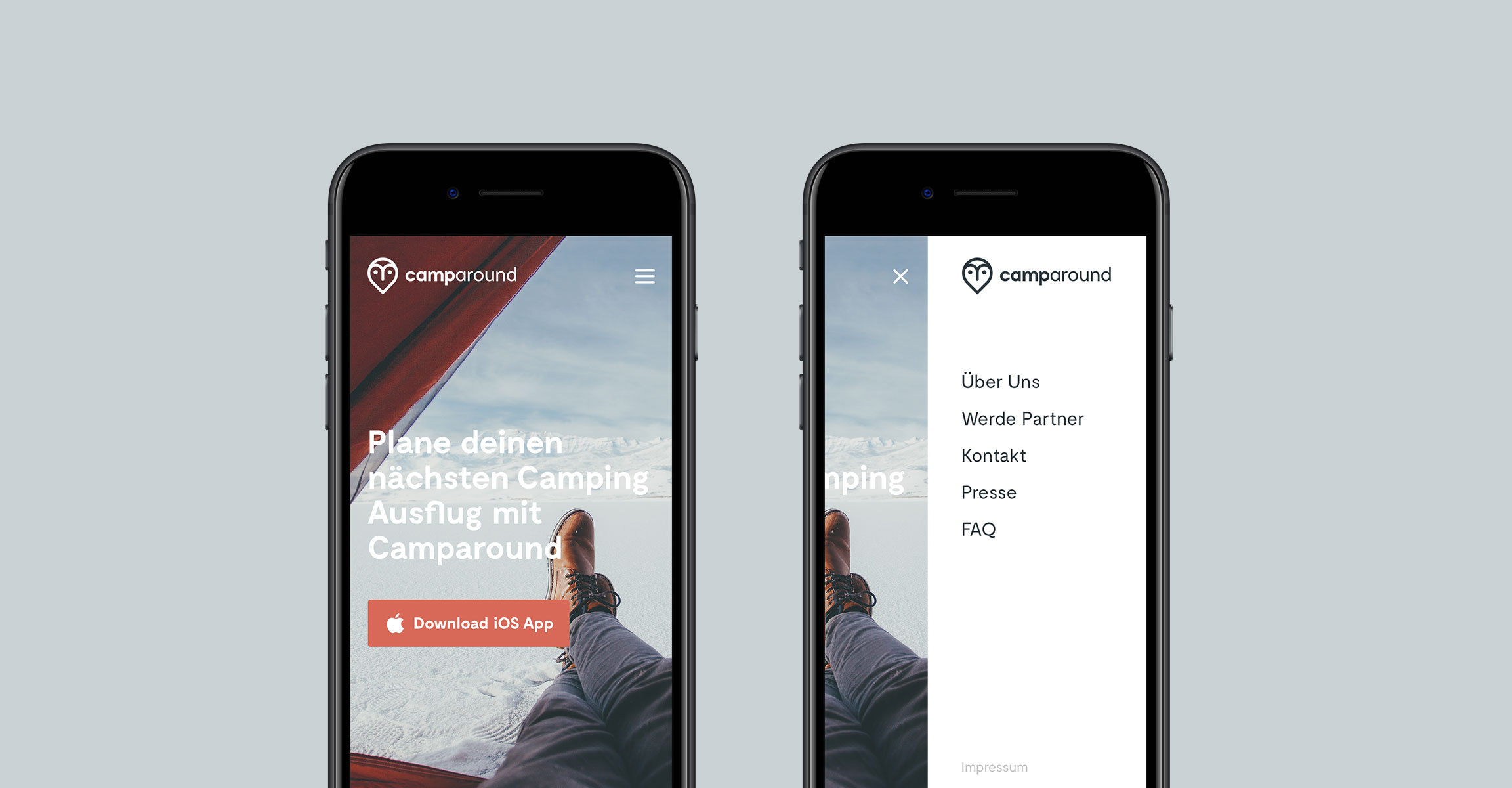 Camparound Referenz Slide 4 Webdesigner aus Schleswig-Holstein