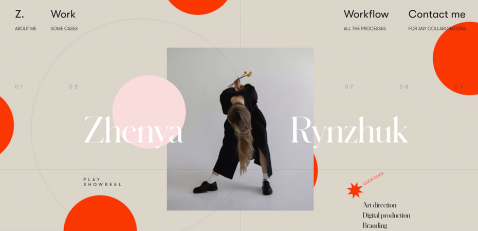 Example of 2020 web design trend of mixing real photographs with graphics