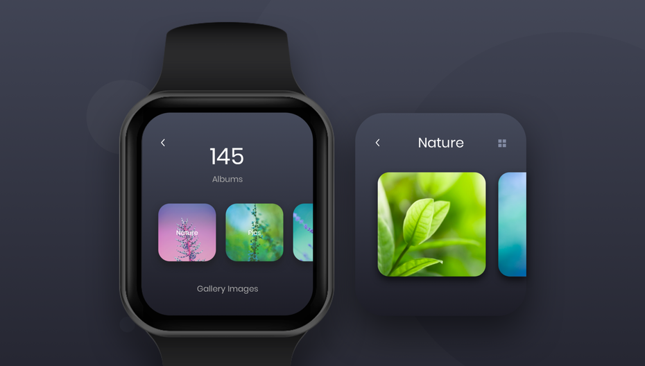 Example of 2020 web design trend of minimalist navigation
