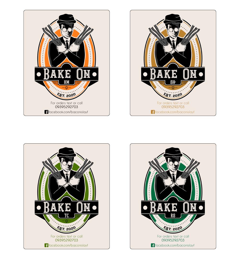 Bake On logo and branding