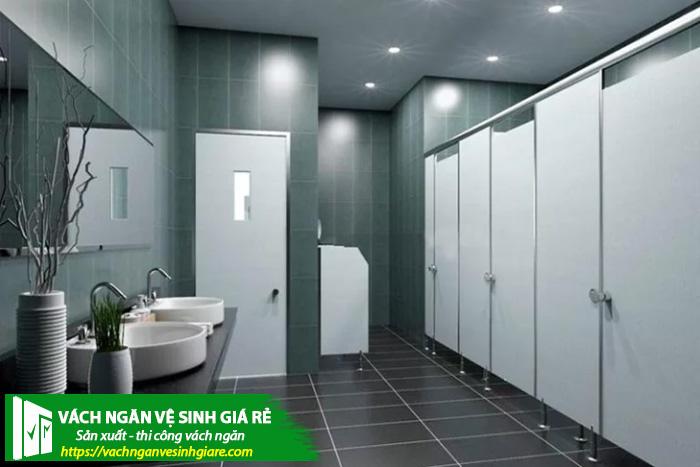 Thiết kế vách ngăn vệ sinh với giá rẻ đẹp