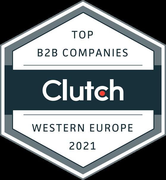 Clutch top b2b companies western europe logo