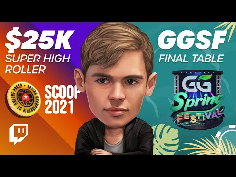 $25,500 Super High Roller &  GGSF Final Table! - Fedor Holz Twitch Highlights