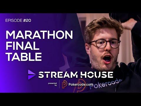 $55 Marathon FINAL TABLE - Stream House #20