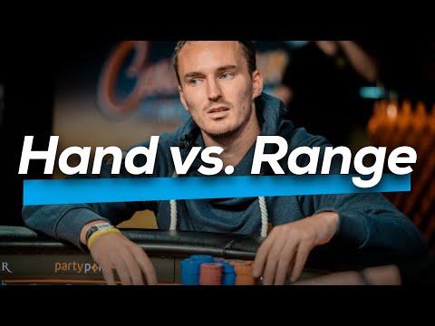 Hand vs. Range - Pokercode Cash Preview