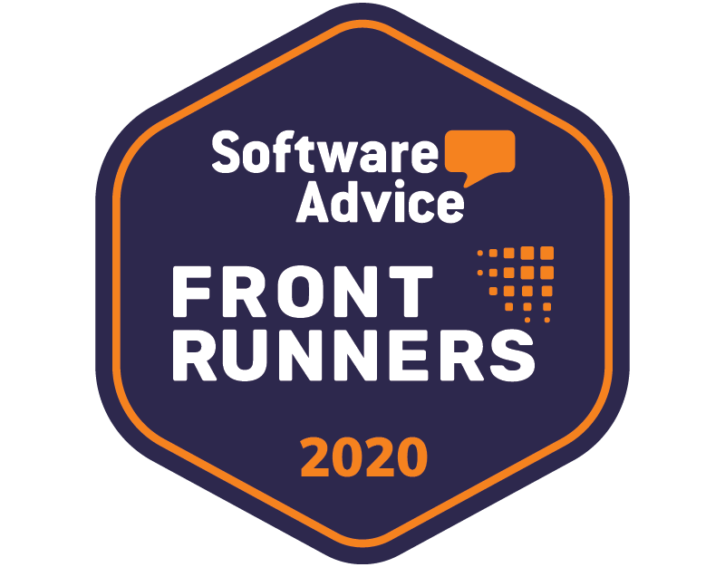 Software Advice badge for Front Runner in 2020