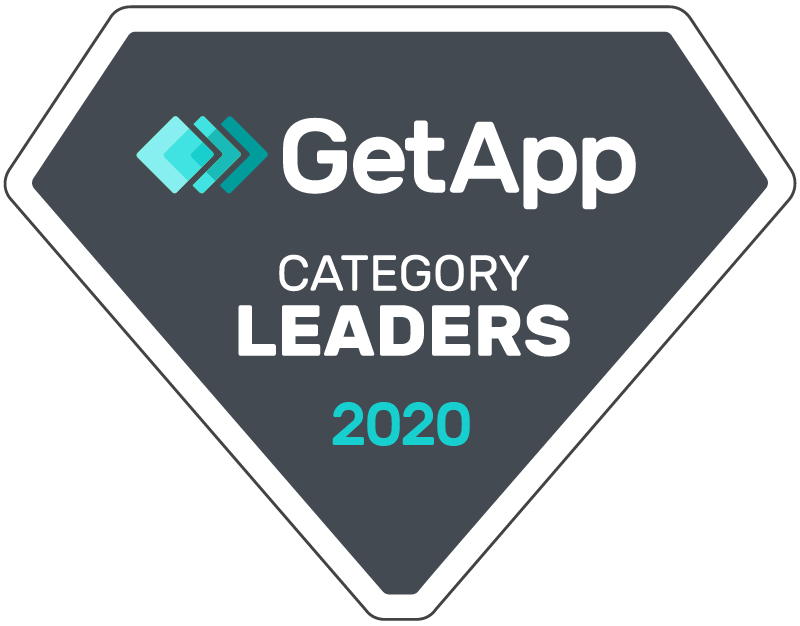 GetApp badge for Category Leaders in 2020