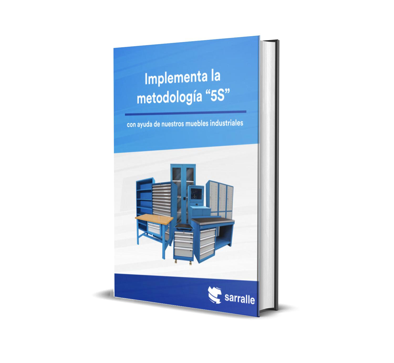 """Implementa la metodología """"5S"""" con ayuda de nuestros muebles industriales"""