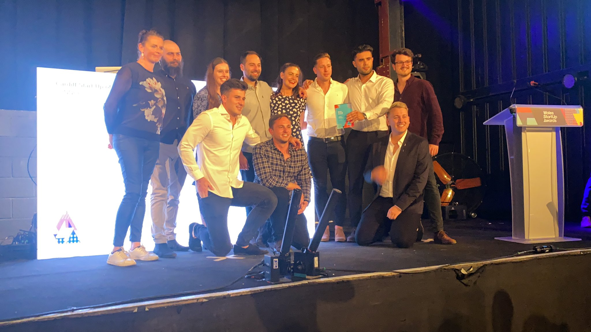 Rising-star Fintech Yoello wins four awards at the Wales Start-up Awards 2021
