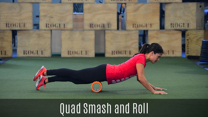 quad smash foam roller demo
