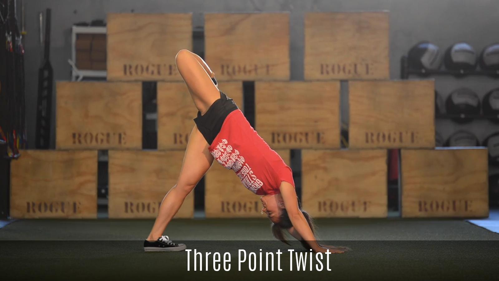 three point twist movement demo