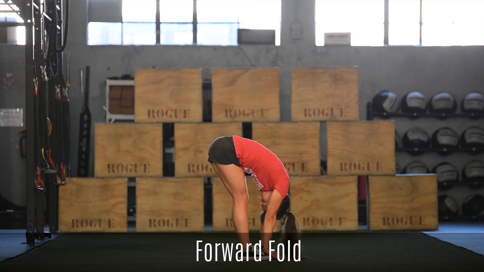 forward fold movement