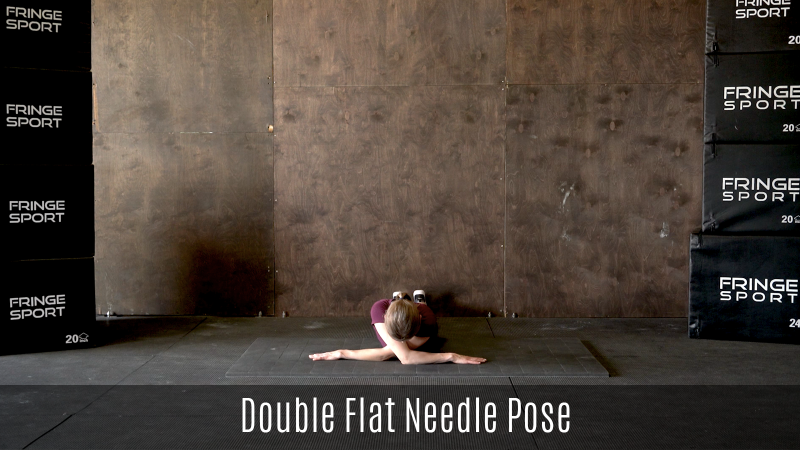 double flat needle pose demo