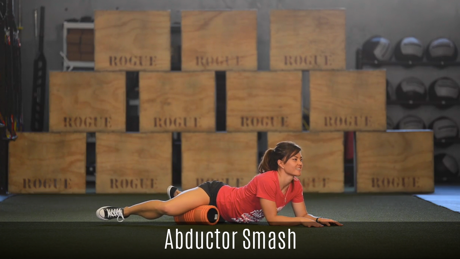 abductor smash foam roller demo