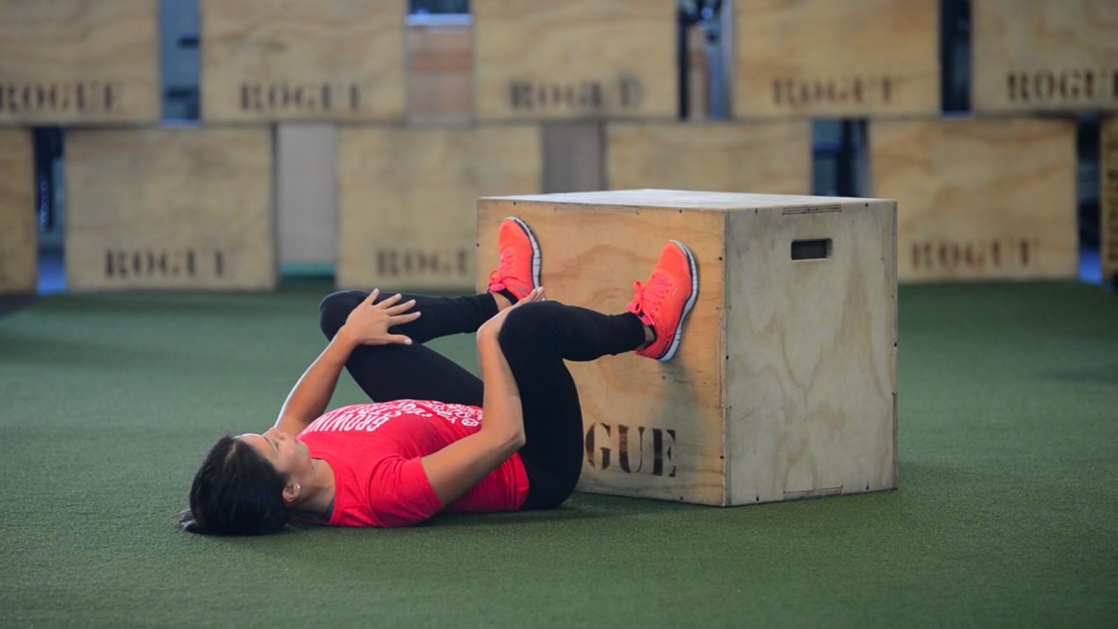 wall squat floor demo