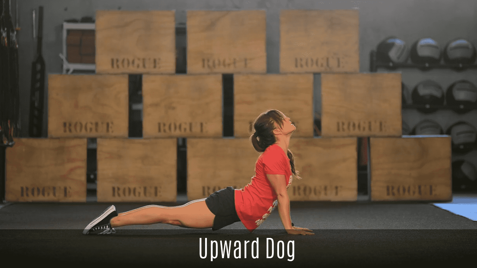 upward dog movement demo