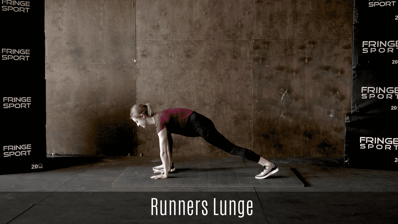 runners lunge movement demo