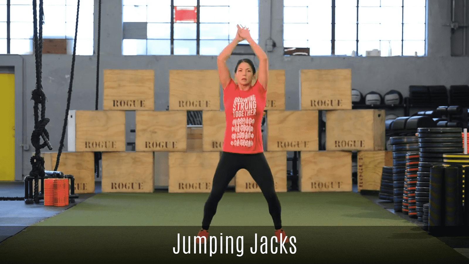 dynamic jumping jacks movement demo