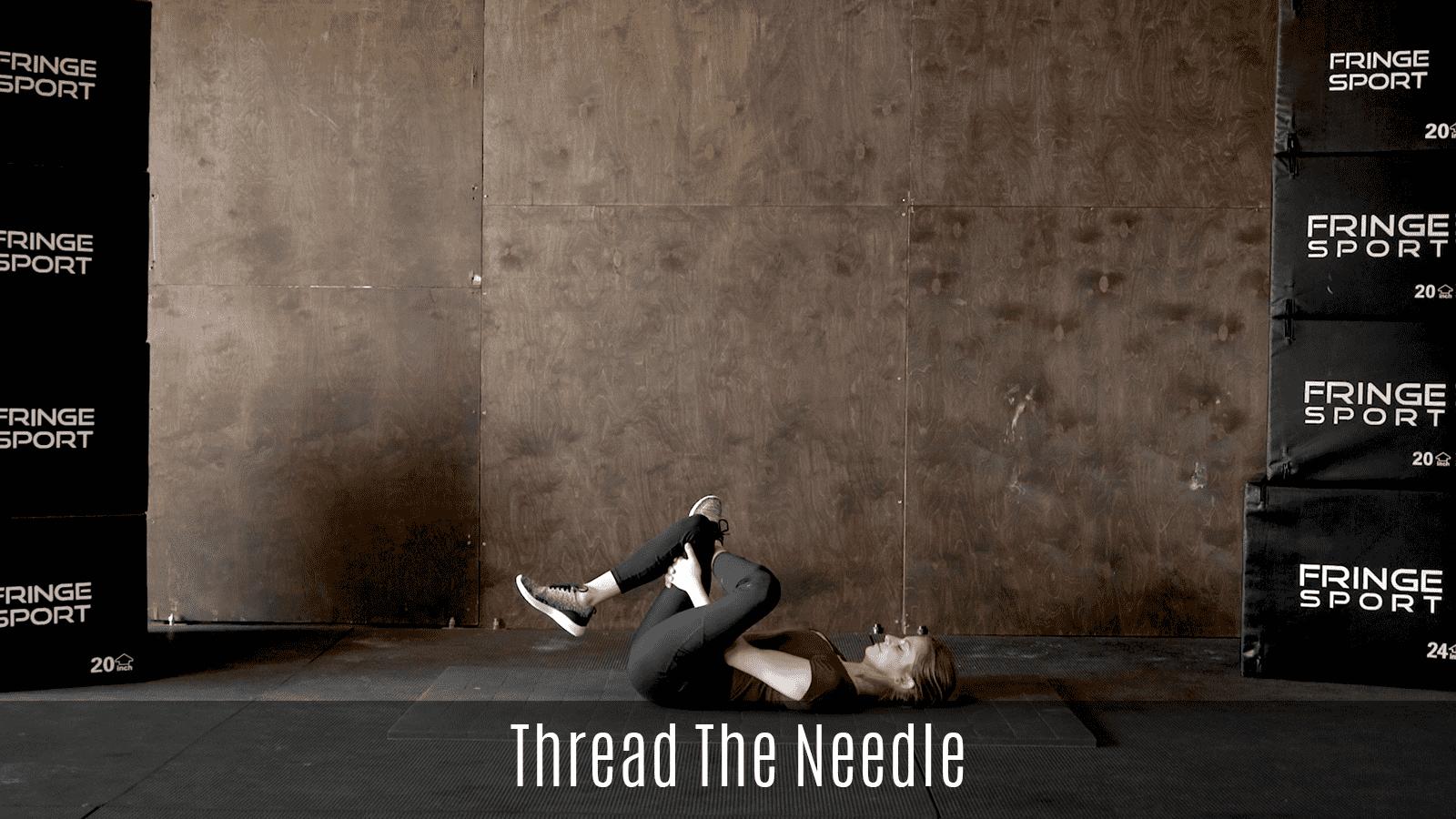 thread the needle movement demo