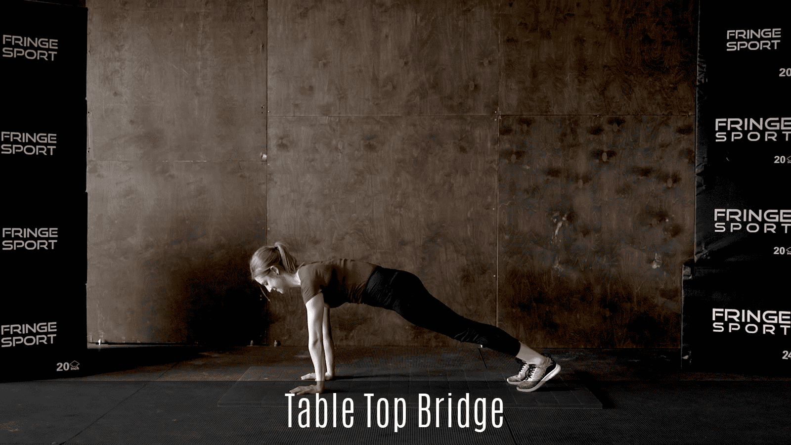 table top bridge movement demo