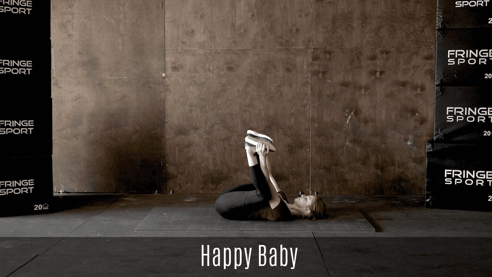 happy baby stretch