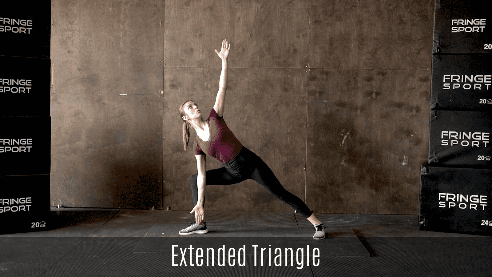 extended triangle exercise demo