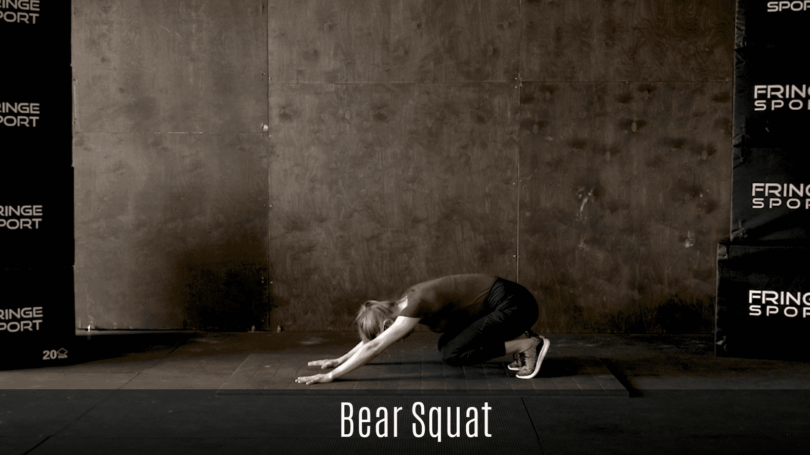bear squat exercise demo
