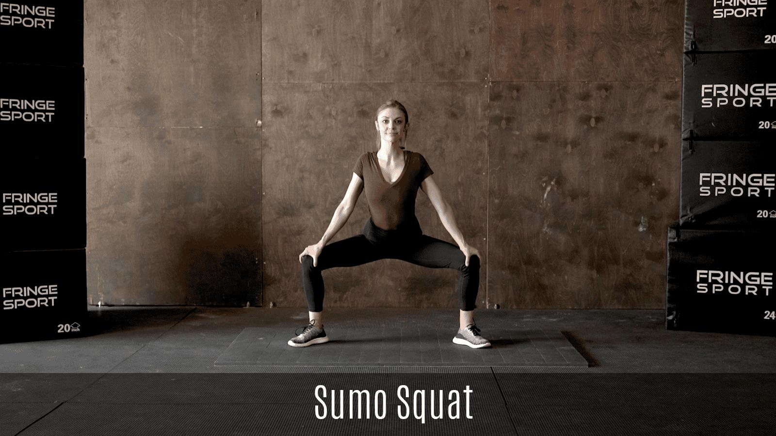 sumo squat movement demo
