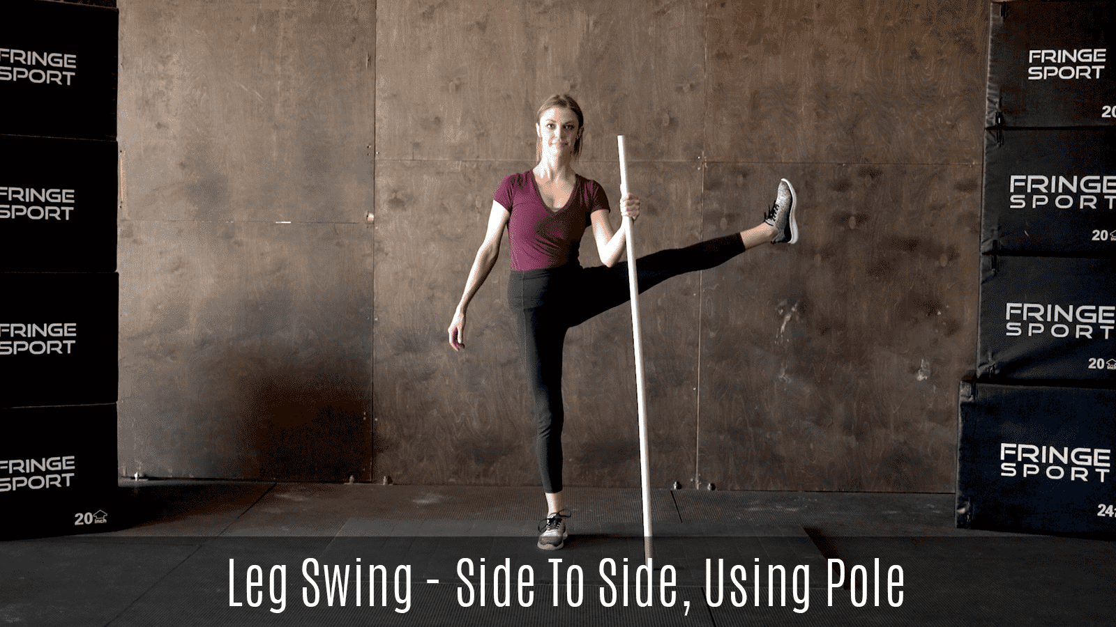 dynamic lateral leg swings movement demo